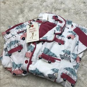 Munki Munki Perfect Pajamas Tree Shopping Size S